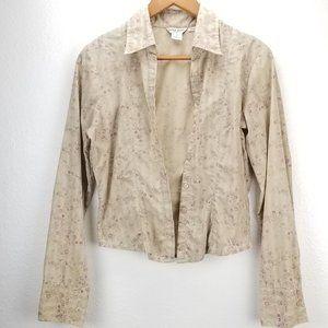 90's VTG Guess Jeans Floral Shirt